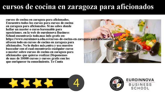 Cursos De Cocina En Zaragoza | Cursos De Cocina En Zaragoza Para Aficionados Cursos De Cocina