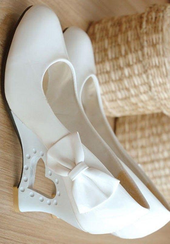 Pin von Katrin Zander auf Brautschuhe in 2019 | Keilabsatz