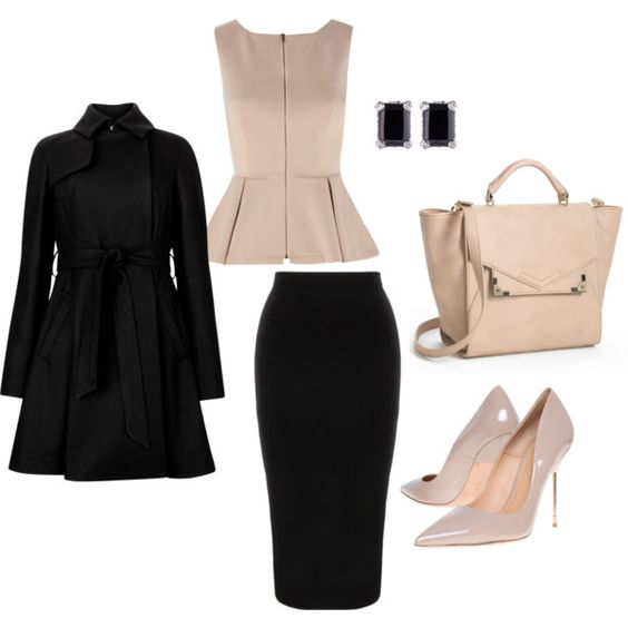 Classic and Elegant Work Outfit