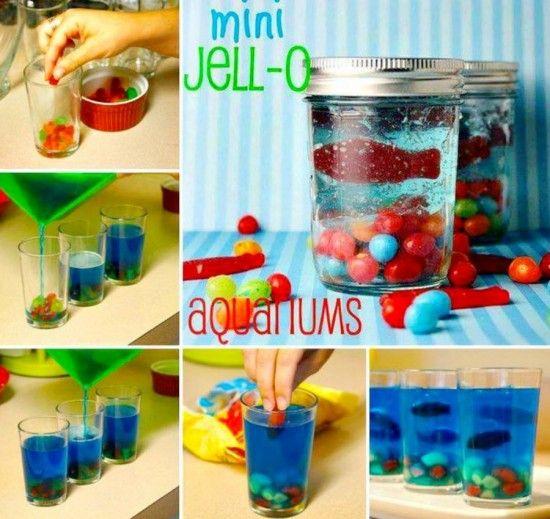 Mini Jello Aquariums. http://thewhoot.com.au/whoot-news/recipes/mini-jello-aquarium