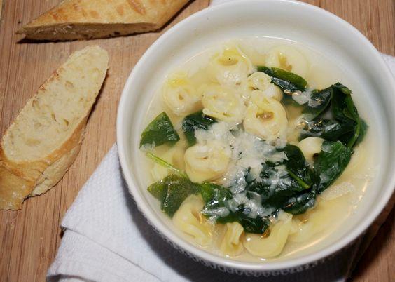 Five Ingredient Tortellini Soup