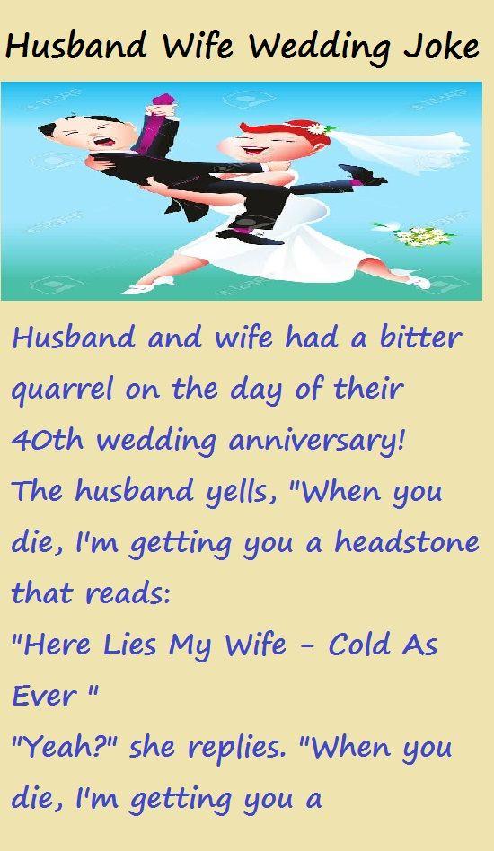 Husband Wife Wedding Joke Humor Wedding Jokes Husband Wife Humor Husband Humor
