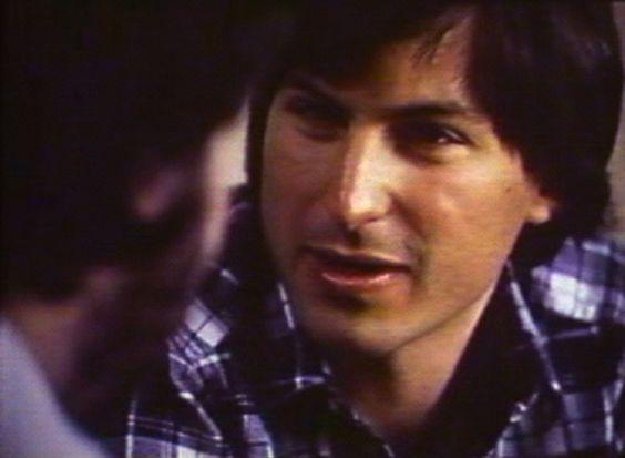 Youthful Steve Jobs