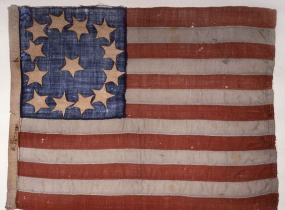 First Old Glory made June 1776 by Betsy Ross