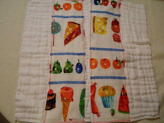 Very Hungry Caterpillar Burp Cloth Set