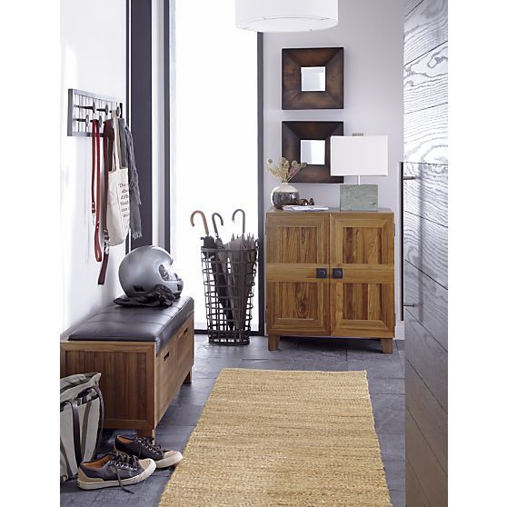 Foyer Table Crate And Barrel : Orda table lamp crate and barrel stand in entryway