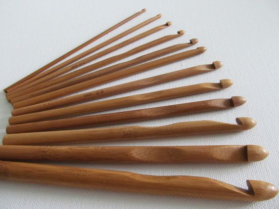 Hey, I found this really awesome Etsy listing at https://www.etsy.com/listing/182307707/12-pcs-bamboo-wood-crochet-hooks-all