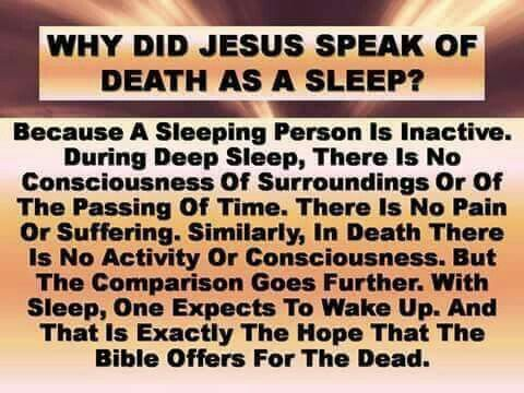 Image result for death is sleep