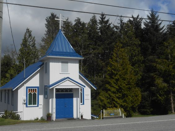 Cute little church, Ucluelet - Vancouver Island, BC. #day18
