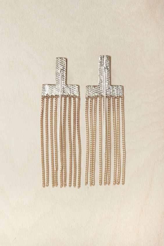 hannahk cross earrings | beautiful dreamers: