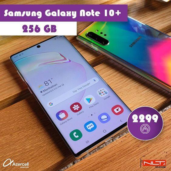 Samsung Galaxy Note 10 Plus 2299 Nlt Nlttelekom Phone Baku Azerbaijanproduction By Cactus Baku In 2020 Samsung Galaxy Phone Samsung Galaxy Phone