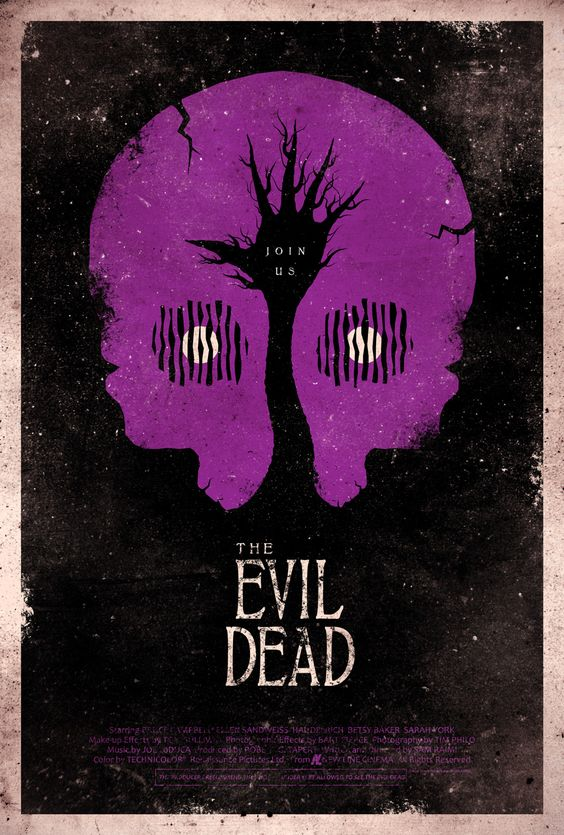 Fan Made EVIL DEAD Poster Art