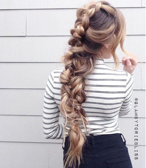 Bohemian braid by @glambytoriebliss