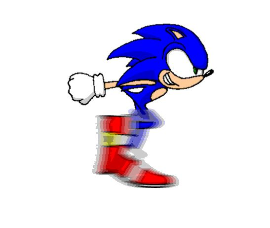 sonic the hedgehog animated GIF