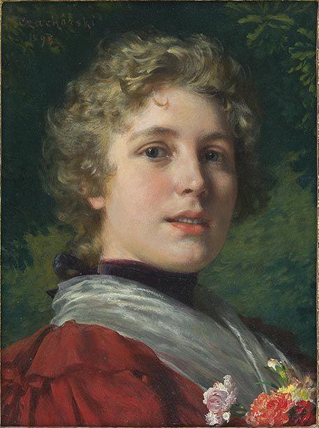 Head of a Girl - Władysław Czachórski: