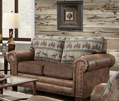 Best Seller American Furniture Classics Deer Teal Lodge Tapestry