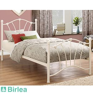 Picture of Sophia Cream Single Bed Frame