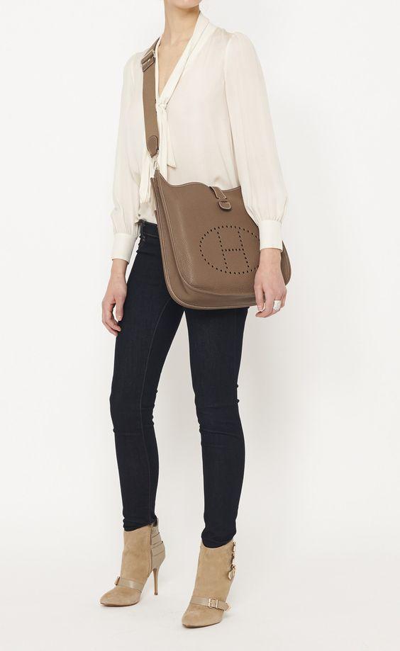 Herm¨¨s Eveline Shoulder Bag | Shoulder Bags, Hermes and Bags