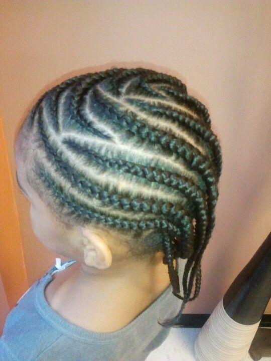 Pleasing Layered Cornrows Braids Pinterest Cornrows Hairstyles For Women Draintrainus