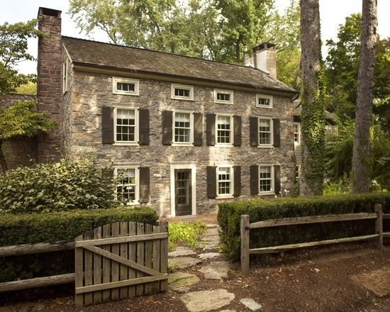 English Colonial Style Home Matthew Frederick MFrederick LLC Via Houzz