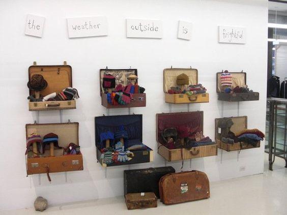 Paul Smith's wholesale showroom in SoHo - würde sich auch gut als Garderobe machen !