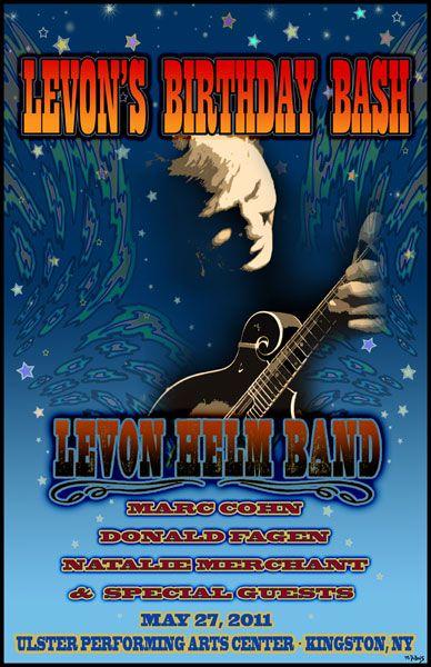 Levon Helm's Birthday Bash 2011 by Mike Dubois | Killer Concert ...