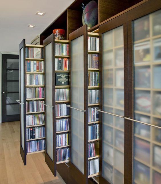 interior design shelves - Home decor shelves, Book shelves and omic book storage on Pinterest