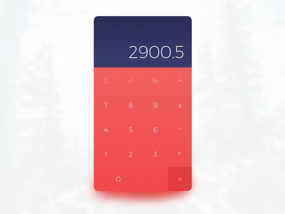 [Freebie] Calculator UI (Sketch) by WORAWALUNS
