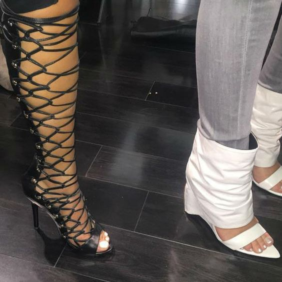 Lust for Life Dynamite Gladiator Heels