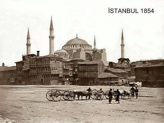 Yayınlanmış olan en eski İstanbul fotoğrafı.. Yıl 1854: