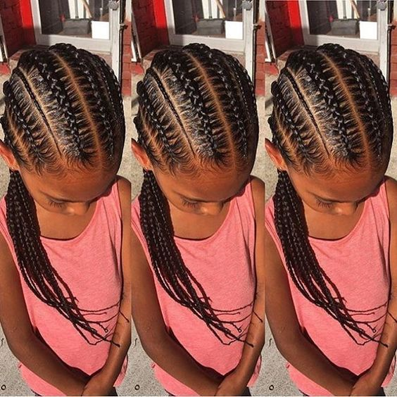 Little Girls Hairstyle Cornrows Girls Cornrow Hairstyles Little Girl Hairstyles Kids Hairstyles