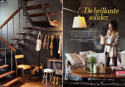 Magali Saberian: Revista Living - Casa