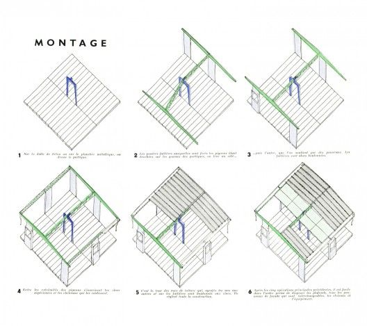 Jeans montages and house on pinterest - Maison jean prouve nancy ...