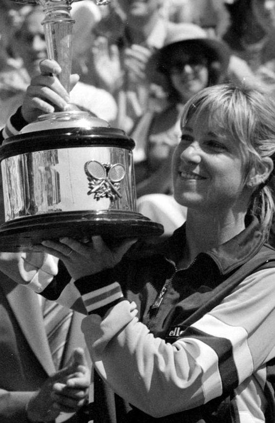 Winning the Australian Open in 1982