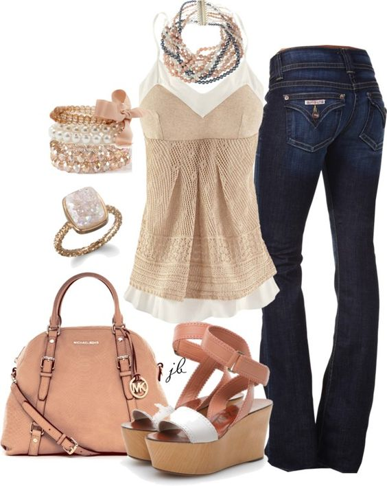 """Neutrals"" by jliz516 on Polyvore"