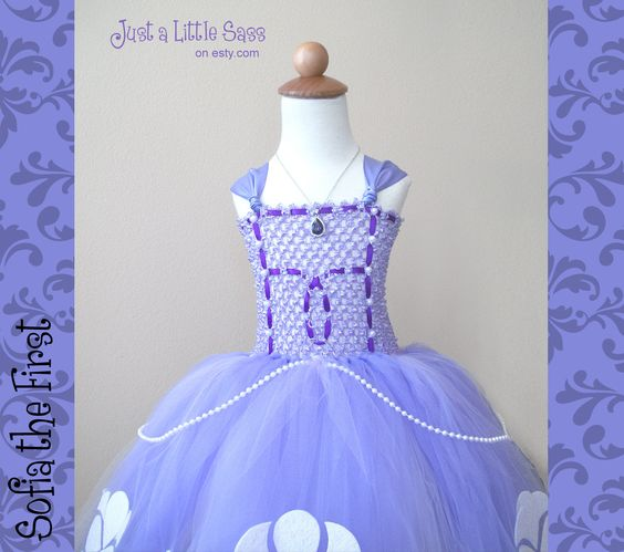 Sofia Sophia the First Dress Dress Up by JustaLittleSassShop