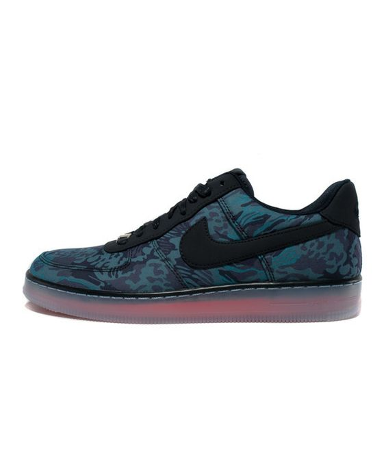 Nike: Air Force 1 Downtown (Dark Obsidian) | extrabutterny