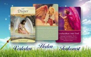 Engelen kaarten Reading. Tijdens een Engelen Reading kun je een directe vraag aan je Engelen stellen. www.engelenfengshui.n