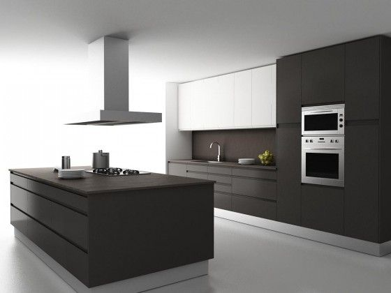 cocina moderna minimalista: