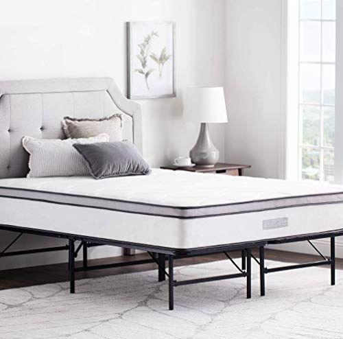 Shop For Weekender 14 Inch Folding Platform Bed Frame Extra Storage Base All Mattress Types Twin Online In 2020 Folding Bed Frame Bed Frame Sizes Metal Platform Bed