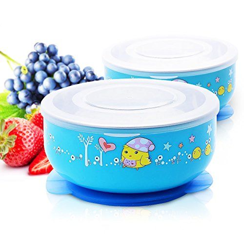 Baby Mate 2 PCS Stay Put Baby Suction Bowl with Lid - Sta... http://www.amazon.com/dp/B013HJSC2S/ref=cm_sw_r_pi_dp_.1Irxb11RD8S2
