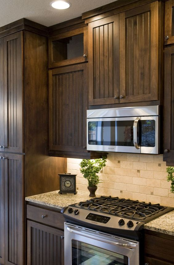 Stove Kitchen Cabinets And Cabinets On Pinterest
