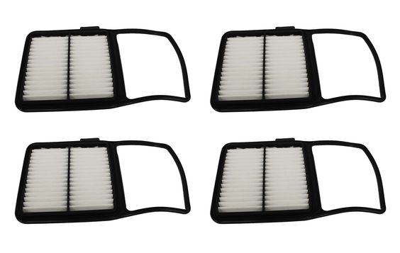 4-Pack Rigid Panel Air Filters for Toyota Prius Hybrid ‰ÛÒ Part # A25698 & CA10159