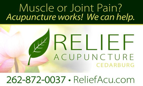Relief Acupuncture Cedarburg.