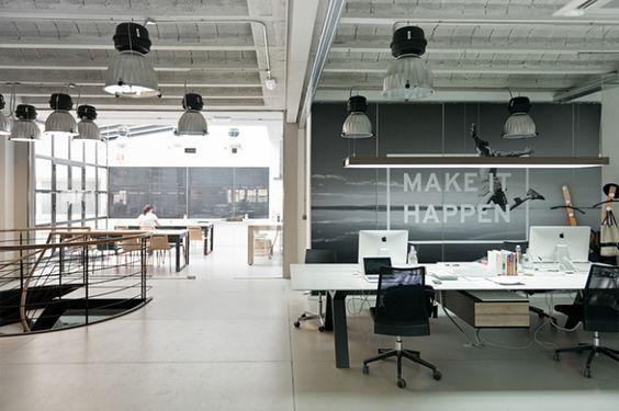Oficinas De COMPAC En Valencia Headquarters In Spain Furnitures By Viccarbe
