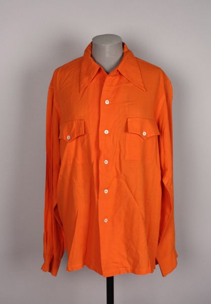 Shirt, 1940s. 2010.80.16. American Textile History Museum.