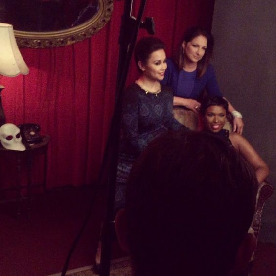 A little #BehindTheScenes of the @nytimes  #Arts&Leisure cover shoot! @onyourfeetbway #diversityonbroadway (GsPeeps)
