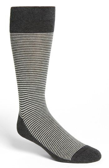 Nordstrom Cushion Foot Pencil Stripe Socks available at #Nordstrom