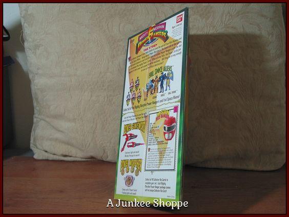 JASON RED Mighty Morphin Power Rangers 1993 Ban Dai   Junk0905  http://ajunkeeshoppe.blogspot.com/