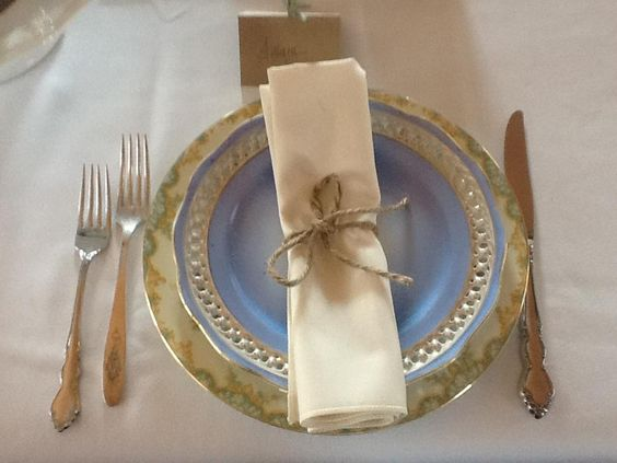 Mixed And Matched Place Settings
